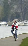 Henley. England, GB Rowing crews training on Henley Reach.<br /> Photo Peter Spurrier.<br /> 11/03/2004 - British International Rowing -<br /> British International cheif rowing coach - Jurgan Grobler..   [Mandatory Credit. Peter SPURRIER/Intersport Images]