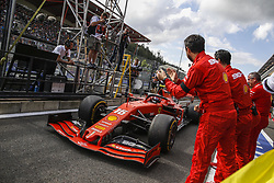 September 1, 2019, Spa-Francorchamps, Belgium: Motorsports: FIA Formula One World Championship 2019, Grand Prix of Belgium, ..#16 Charles Leclerc (MCO, Scuderia Ferrari Mission Winnow) (Credit Image: © Hoch Zwei via ZUMA Wire)