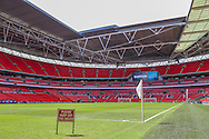 Wembley Stadium during the FA Community Shield match between Chelsea and Arsenal at Wembley Stadium, London, England on 2 August 2015. Photo by Shane Healey.
