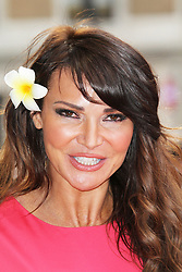 © Licensed to London News Pictures. 01/07/2013. London, UK. Lizzie Cundy at the Bula Quo UK film premiere, Odeon West End cinema Leicester Square, London. Photo credit: Richard Goldschmidt/LNP