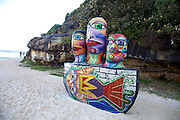 The world's largest free-to-the-public outdoor sculpture exhibition, Sculpture by the Sea, Bondi. .Deborah Halpern- Ship Of Fools.