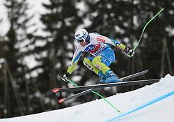 16/12/2011, Val Gardena, Italy. KLINE Bostjan (SLO) in action during the Alpine Ski World Cup -  Saslong - men Super-G .© Pierre Teyssot / Sportida.com