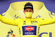 CHATEAUROUX, FRANCE - July 01 : VAN DER POEL Mathieu (NED) of ALPECIN-FENIX  during stage 6 of the 108th edition of the 2021 Tour de France cycling race, a stage of 160,6 kms between Tours and Chateauroux on July 1, 2021 in Chateauroux, France, 1/07/2021