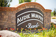 Audie Murphy Ranch Stone Monument