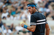 Juan Martin DEL POTRO (ARG) during the Roland Garros French Tennis Open 2018, day 9, on June 4, 2018, at the Roland Garros Stadium in Paris, France - Photo Stephane Allaman / ProSportsImages / DPPI