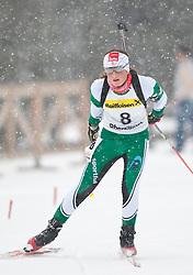 11.12.2010, Biathlonzentrum, Obertilliach, AUT, Biathlon Austriacup, Sprint Lady, im Bild Lisa Ehgartner (AUT, #8) Platz 2. EXPA Pictures © 2010, PhotoCredit: EXPA/ J. Groder