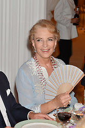 HRH PRINCESS MICHAEL OF KENT at a dinner hosted by Cartier in celebration of The Chelsea Flower Show held at The Hurlingham Club, London on 19th May 2014.