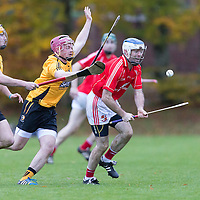 Crusheen's Patrick Vaughan V Crusheen's Colm Galvin and Cillian Fennessy