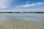 View at the lighthouse near El Cotillo, Fuerteventura,  Spain.