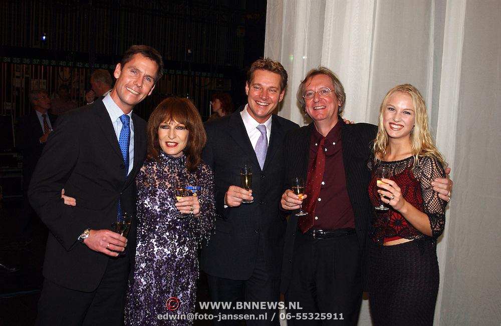 KO Liesbeth List, met producent Albert Verlinde, man Robert Braaksma en dochter Elisah