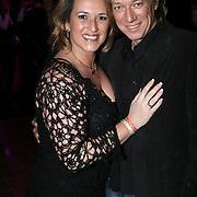 NLD/Uitgeest/20080116 - Uitreiking Popularitiets award Noord Holland 2008, Sasja Brouwer en partner