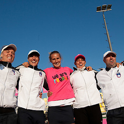 20110417: SLO, Tennis - Fed Cup, Slovenia vs Canada, Day 2