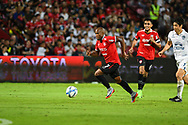 NONTHABURI, THAILAND - JULY 09: Heberty of SCG Muangthong in action during the second half of the Thai League: SCG Muangthong United vs Buriram United at SCG Stadium, Nonthaburi, Thailand on July 09, 2017.<br /> .<br /> .<br /> .<br /> (Photo by: Naratip Golf Srisupab/SEALs Sports Images)<br /> .<br /> Any image use must include a mandatory credit line adjacent to the content which should read: Naratip Golf Srisupab/SEALs Sports Images