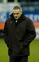 Photo: Leigh Quinnell.<br /> Luton Town v Cardiff City. Coca Cola Championship. 01/01/2007. Cardiff manager Dave Jones unhappy at half time.