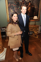 A party to promote the exclusive Puntacana Resort & Club - the Caribbean's Premier Golf & Beach Resort Destination, was held at Spencer House, London on 13th May 2010.<br /> <br /> Picture shows:-Left to right, HARRY BOND and FABIANA MARENGHI