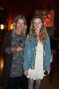 IWONA BLAZWICK; BELLA BLAZWICK, Andrea Dibelius of the EMDASH Foundation hosts party to celebrate the Austrian Pavilion and artist Mathias Poledna at the Venice Biennale. Palazzo Barbaro, Venice. 30 May 2013<br /> <br /> <br /> Venice. Venice Bienalle. 28 May 2013