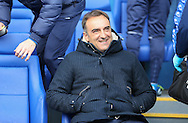 Sheffield Wednesday head coach Carlos Carvalhal during the Sky Bet Championship match between Sheffield Wednesday and Cardiff City at Hillsborough, Sheffield, England on 30 April 2016. Photo by Phil Duncan.