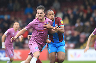 Matty Gillam during the EFL Sky Bet League 1 match between Scunthorpe United and Rochdale at Glanford Park, Scunthorpe, England on 8 September 2018.