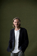 Celebrated British actor Mackenzie Crook, pictured at the Edinburgh International Book Festival where he talked about his debut novel for children entitled 'The Lost Journals of Benjamin Tooth'. The three-week event is the world's biggest literary festival and is held during the annual Edinburgh Festival. The 2014 event featured talks and presentations by more than 500 authors from around the world and was the 31st edition of the festival.