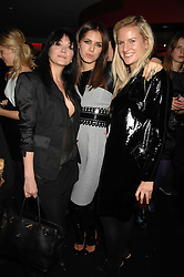 Left to right, ANNABELLE NEILSON, DASHA ZHUKOVA and OLYMPIA SCARRY at a party to celebrate the launch of the Kova & T fashion label and to re-launch the Harvey Nichols Fifth Floor Bar, held at harvey Nichols, Knightsbridge, London on 22nd November 2007.<br /><br />NON EXCLUSIVE - WORLD RIGHTS
