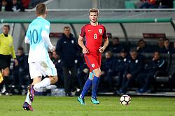 Eric Dier of England runs with the ball - Mandatory by-line: Robbie Stephenson/JMP - 11/10/2016 - FOOTBALL - RSC Stozice - Ljubljana, England - Slovenia v England - World Cup European Qualifier