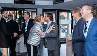 BUSSUM - Jeroen Stevens, Dirk Jan Vink , Lodewijk Klootwijk.   Nationaal Golf Congres & Beurs. COPYRIGHT KOEN SUYK