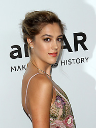 13 October 2017 - Beverly Hills, California - Sistine Rose Stallone. 2017 amfAR Gala Los Angeles held at Green Acres Estate in Beverly Hills. Photo Credit: AdMedia