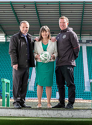 Pictured:   Mickey Weir, Clare Haughey and Gary Locke<br />