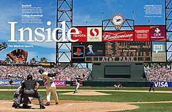 Barry Bonds hits #715, Sports Illustrated, 2006