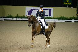 Minderhoud Hans Peter (NED) - Exquis Nadine<br /> World Cup Final Las Vegas 2009<br /> Photo © Dirk Caremans