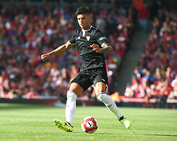 July 30, 2017 - London, England, United Kingdom - Ever Banega of Sevilla FC..during Emirates Cup match between Arsenal  against Savilla FC   at The Emirates Stadium in north London on July 30, 2017, the game is one of four matches played over two days for the Emirates Cup. (Credit Image: © Kieran Galvin/NurPhoto via ZUMA Press)