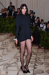Jamie Bochert walking the red carpet at The Metropolitan Museum of Art Costume Institute Benefit celebrating the opening of Heavenly Bodies : Fashion and the Catholic Imagination held at The Metropolitan Museum of Art  in New York, NY, on May 7, 2018. (Photo by Anthony Behar/Sipa USA)