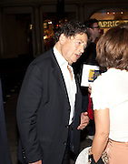 NIGEL LAWSON, Yes, Prime Minister Press night re-opening at Apollo Theatre, Shaftesbury Avenue London<br /> <br />  , -DO NOT ARCHIVE-© Copyright Photograph by Dafydd Jones. 248 Clapham Rd. London SW9 0PZ. Tel 0207 820 0771. www.dafjones.com.