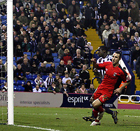 Photo: Mark Stephenson/Sportsbeat Images.<br /> West Bromwich Albion v Coventry City. Coca Cola Championship. 04/12/2007.Coventry'd Michael Mifsud scores his 2ed goal for 4-2