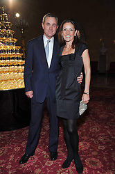 LORD & LADY ROTHERWICK at a party to celebrate 300 years of Tatler magazine held at Lancaster House, London on 14th October 2009.