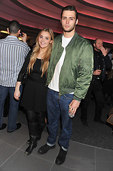 CLAUDE SIMONON and JESS O'DONOHUE at the launch of famed American fitness club 'Equinox' 99 High Street Kensington, London on 23rd October 2012.