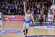 DESCRIZIONE : Sassari LegaBasket Serie A 2015-2016 Dinamo Banco di Sardegna Sassari - Giorgio Tesi Group Pistoia<br /> GIOCATORE : Matteo Formenti<br /> CATEGORIA : Ritratto Esultanza Mani<br /> SQUADRA : Dinamo Banco di Sardegna Sassari<br /> EVENTO : LegaBasket Serie A 2015-2016<br /> GARA : Dinamo Banco di Sardegna Sassari - Giorgio Tesi Group Pistoia<br /> DATA : 27/12/2015<br /> SPORT : Pallacanestro<br /> AUTORE : Agenzia Ciamillo-Castoria/L.Canu