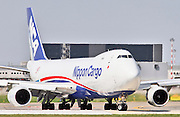 Nippon Cargo Airlines (NCA), Boeing 747-800 at Milan - Malpensa (MXP / LIMC) Italy