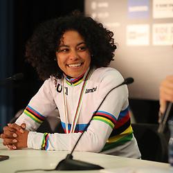 01-02-2020: Wielrennen: WK Veldrijden: Dubendorf <br />Ceylin del Carmen Alvarado wint de wereldtitel bij de vrouwen