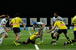 January 8, 2018 - Nanterre, Hauts de Seine, France - Racing Metro 92 Lock DONNACHA RYAN in action during the French rugby championship Top 14 match between Racing Metro 92 and Clermont at U Arena Stadium in Nanterre - France.Racing won 58-6 (Credit Image: © Pierre Stevenin via ZUMA Wire)
