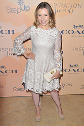 Beverley Mitchell arrives at Step Up's 14th Annual Inspiration Awards held athe Beverly Hilton in Beverly Hills, CA on Friday, June 2, 2017. (Photo By Sthanlee B. Mirador) *** Please Use Credit from Credit Field ***