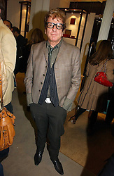 NICKY HASLAM at a party to celebrate the 10th anniversary of the Smythson Fashion Diary and to the launch of the 2007 Limited Edition held at Smythson, New Bond Street, London on 25th October 2006.<br /><br />NON EXCLUSIVE - WORLD RIGHTS
