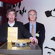 NLD/Amsterdam/20140220 - Boekpresentatie Fout Geld in De Nederlandse Bank, Thomas Ross en Roel Janssen