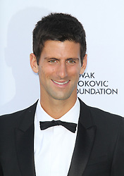 © Licensed to London News Pictures. Novak Djokovic at the Novak Djokovic Foundation London gala dinner, The Roundhouse, London UK, 08 July 2013. Photo credit: Richard Goldschmidt/LNP