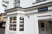 A branch of estate agent Hamptons International is pictured during the second coronavirus lockdown on 9th November 2020 in Windsor, United Kingdom. Countrywide, the UK's largest listed estate agent group which owns Hamptons International as well as Gascoigne-Pees, has received an initial approach regarding a potential £82m takeover from Connells.