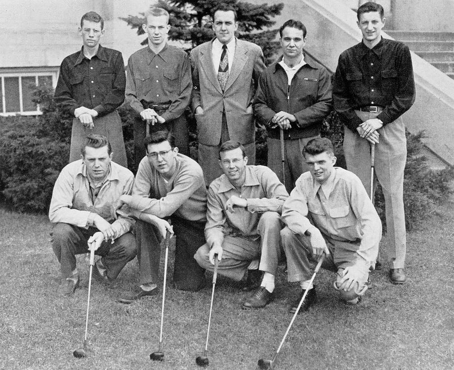 1957 Men's Golf<br /> Indiana Collegiate Conference<br /> Regular Season Champion