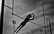 Rumson-Fair Haven's Emily Boak competes in the pole vault during the Monmouth County Track & Field Championships held at Holmdel High School in Holmdel on May 11, 2016.
