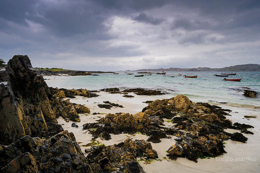 Hebrides, Iona island.