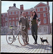 Tweed Run 2010. London. 10.4.10