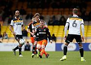 John Fleck of Sheffield Utd  during the English League One match at Vale Park Stadium, Port Vale. Picture date: April 14th 2017. Pic credit should read: Simon Bellis/Sportimage